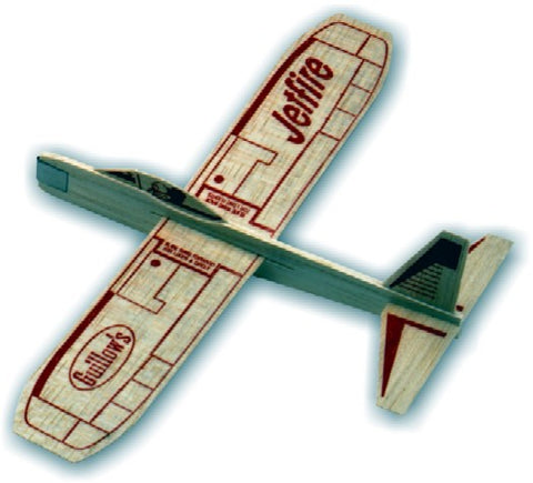 Guillows 30 Jetfire Balsa Glider