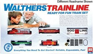 Walthers 931-872 HO Canadian Pacific  Ready-for-Fun Train Set