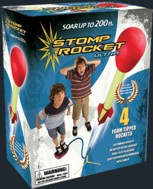 D & L ROCKETS 20008 Ultra Stomp Rocket Set