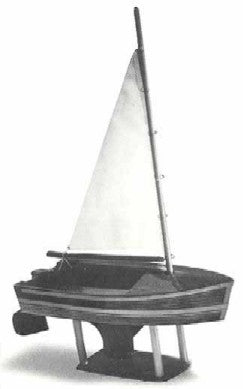 "Dumas 1007 12"" Sailboat Junior Wooden Boat Kit"