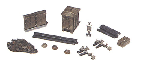 JL Innovative Design 2151 N Railroad Mainline Detail Set Metal Kit