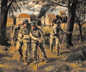 Master Box Models 3511 1:35 U.S. Paratroopers (1944)