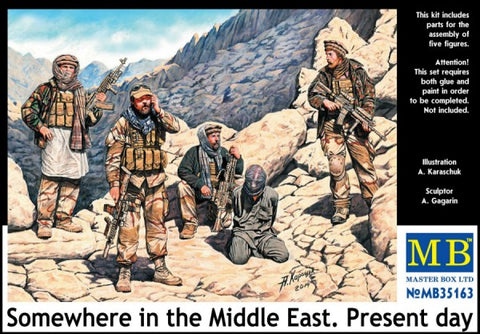 Master Box Models 35163 1:35 Somewhere In The Middle East Present Day