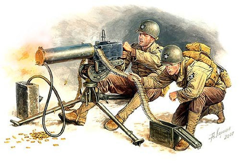 Master Box Models 3519 1:35 U.S. Machine-Gunners