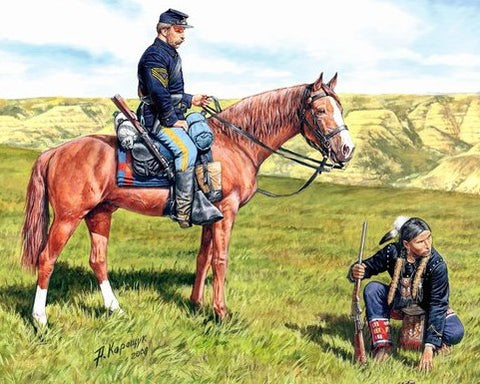 "Master Box Models 3549 1:35 ""U.S. Civil War Series: Yankee Scout and Tracker"""