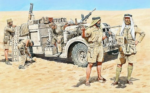 Master Box Models 3598 1:35 LRDG in North Africa WWII