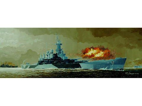 Trumpeter Models 5303 1:350 USS North Carolina BB55 Battleship Model Kit