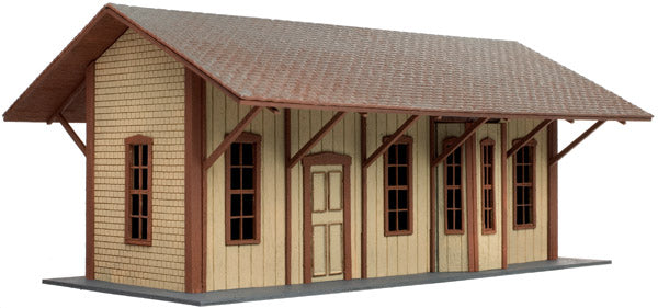 Atlas 4001017 HO Manahawkin, New Jersey, Station Laser-Cut Wood Kit