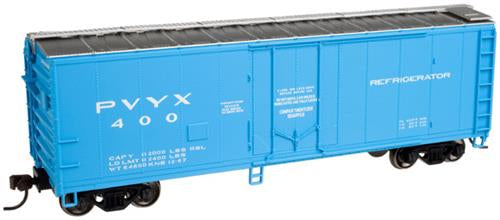 Atlas 50001806 N Trainman 40'Plug Door Boxcar Merchants Despatch PVYX #400