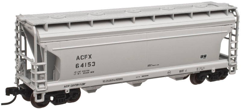 Atlas 50001884 N ACFX ACF 3560 Center-Flow Covered Hopper #64181