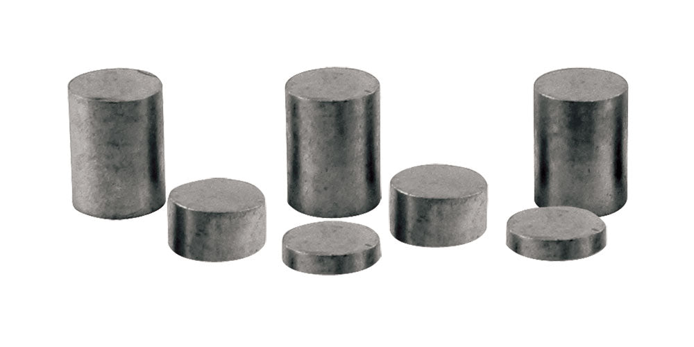 PineCar P3914 2oz Tungsten Incremental Weights Cylinder (Pack of 7)