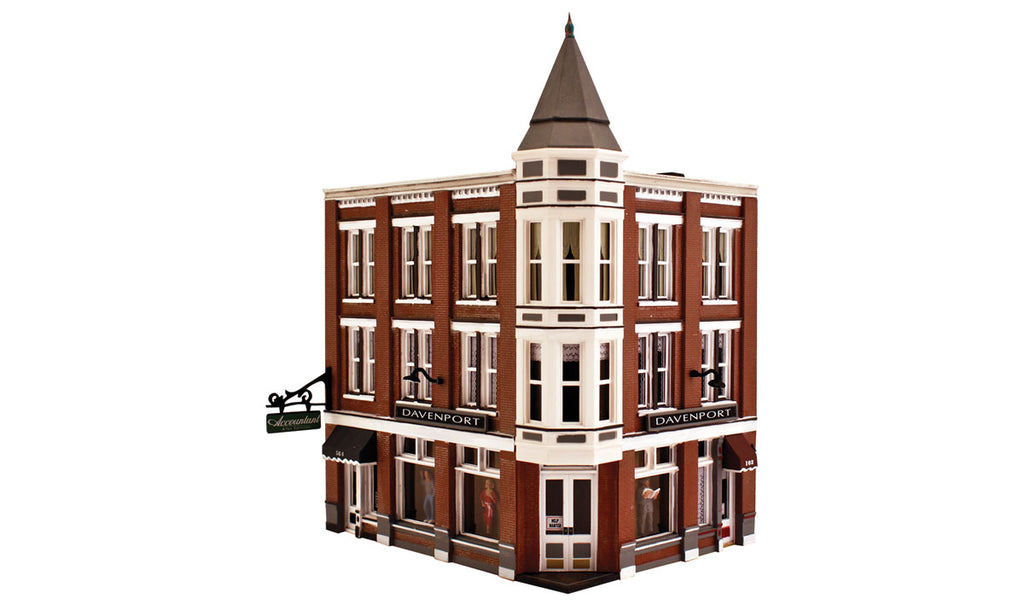 Woodland Scenics PF5214 N Davenport Department Store Building Kit