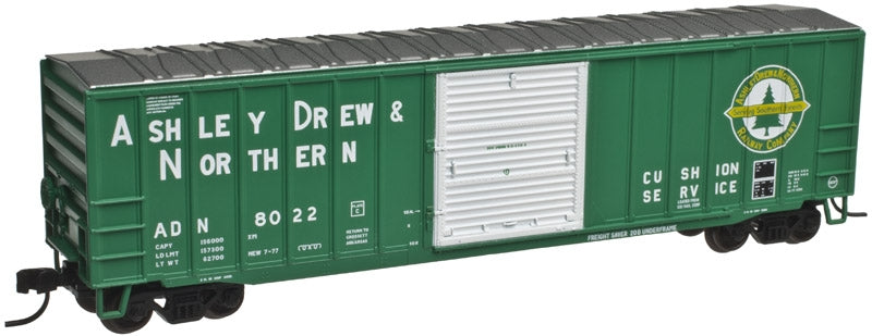 Atlas 50001533 N Ashley, Drew & Northern ACF 50'6 Boxcar #8036