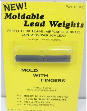 Proto Power 13010 HO Moldable Lead Weights 1oz