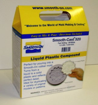 Smooth ON 47541 Smooth Cast 320 Fast Setting Urethane Liquid Plastic Casting