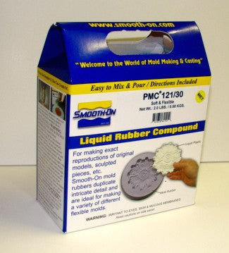 Smooth ON 64041 PMC121/30 (Wet) Mold Making Urethane Liquid Rubber Compound