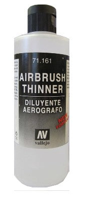 Vallejo Paint 71161 Airbrush Thinner 200ml