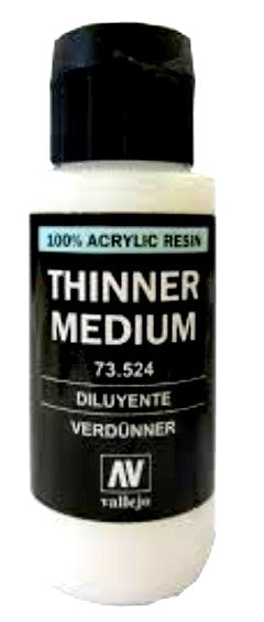 Vallejo Paint 73524 Thinner Medium 60ml