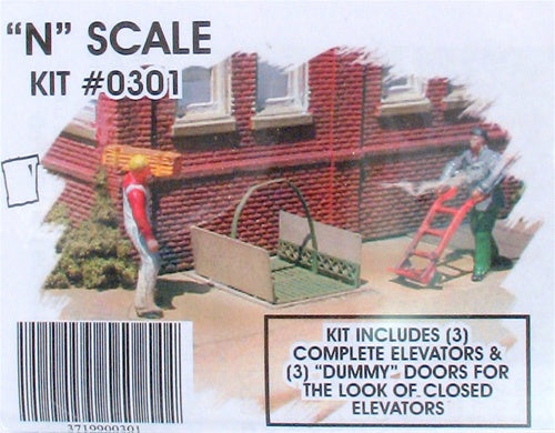 Bar Mills 301 N Street Elevator Set - Kit 3 Complete Sets