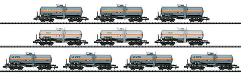 Trix 15414 N Gas Tank Wagon Set of 10
