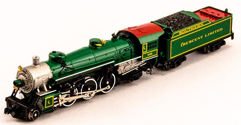 Model Power 87436 N 4-6-2 Southern Crescent Steam Locomotive w/Tender