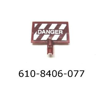Lionel 18406-77 Maintenance Car Danger Sign
