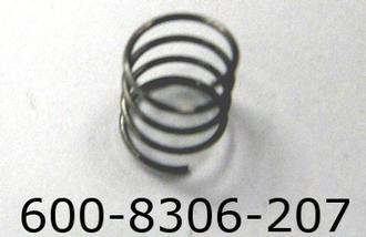 Lionel 8306-207 Check Ball Retaining Spring (2)