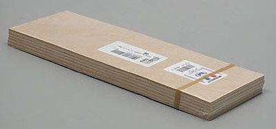 "Midwest Products 5303 Craft Plywood 1/8"" x 4"" x 12"" (6 Piece Bundle)"