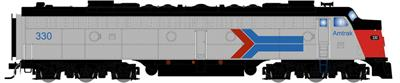 Broadway Limited 2743 HO Amtrak EMD E8A with Sound& DCC Paragon2™ #341