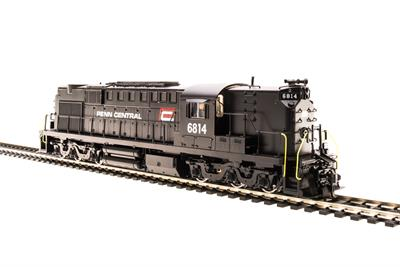 Broadway Limited 2989 HO Penn Central Alco RSD15 High Nose Paragon2™ #6814