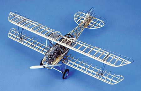 Model Shipways 1001 1:16 Albatros D.Va Wood Model Airplane Kit