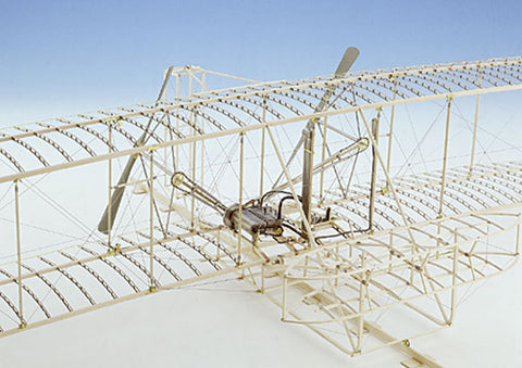 Model Shipways 1020 1:16 Wright Flyer Model Airplane Kit