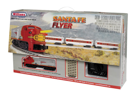 Williams 321 O Santa Fe Flyer Train Set