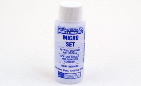 Microscale 1 Micro Set Solution - 1oz. bottle (Decal Setting Solution/Remover)