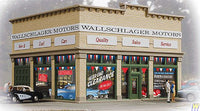 Walthers 931-805 HO Wallschlager Motors Assembled Building