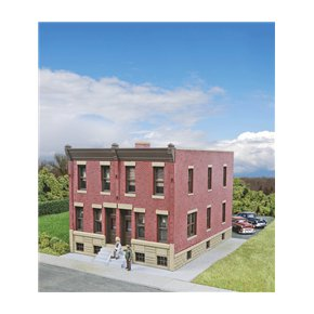 Walthers 933-3778 HO Row House Kit