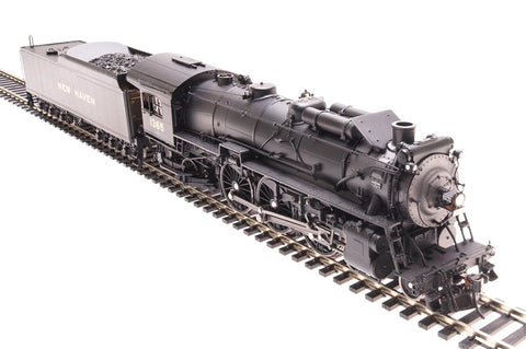 Broadway Limited 1941 HO New Haven I-4-d 4-6-2 Pacific W-12-c Tender #1365