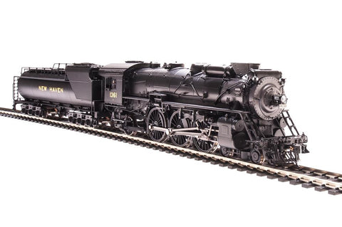 Broadway Limited 1943 HO New Haven I-4-c 4-6-2 Pacific V1a Vanderbilt #1361