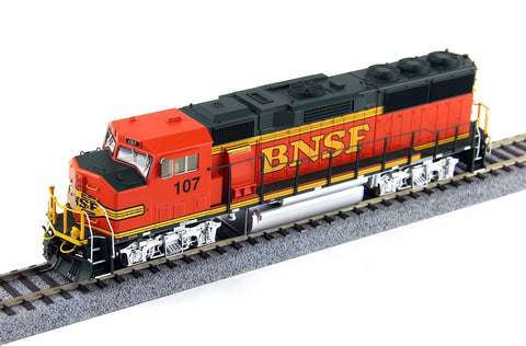 Fox Valley Models 20105S HO Burlington Northern Santa Fe GP60M Diesel Loco #107