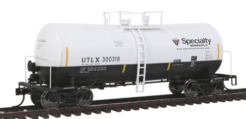 Walthers 920-100127 HO Specialty Minerals 40' UTLX 16,000-Gallon Funnel Flow Tank Car #300318