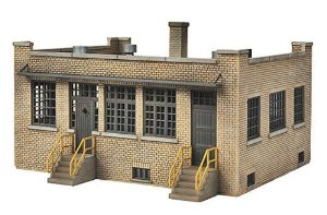 Walthers 933-4020 HO Single Story Brick Industry Office Kit