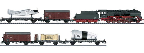 Marklin 26802 HO Airplane Transport Train-Only Set - 3-Rail with Sound & Digital