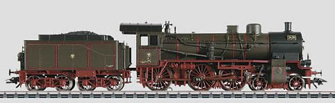 Marklin 37028 HO Royal Prussian Railroad KPEV Class P8 4-6-0 - 3-Rail