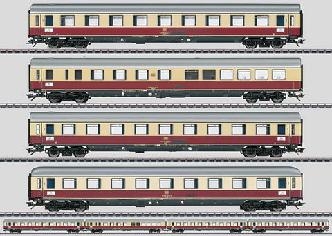 "Marklin 43854 HO TEE ""Helvetia"" Express Train Passenger 4-Car Set"