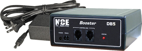 NCE 0028 DB5 5 Amp Standard Booster with International Power Supply