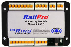 Ring Engineering AM1 HO Railpro Command Control Component