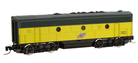 MicroTrains 98002382 Z Chicago & North Western EMD F7B - Standard DC #315