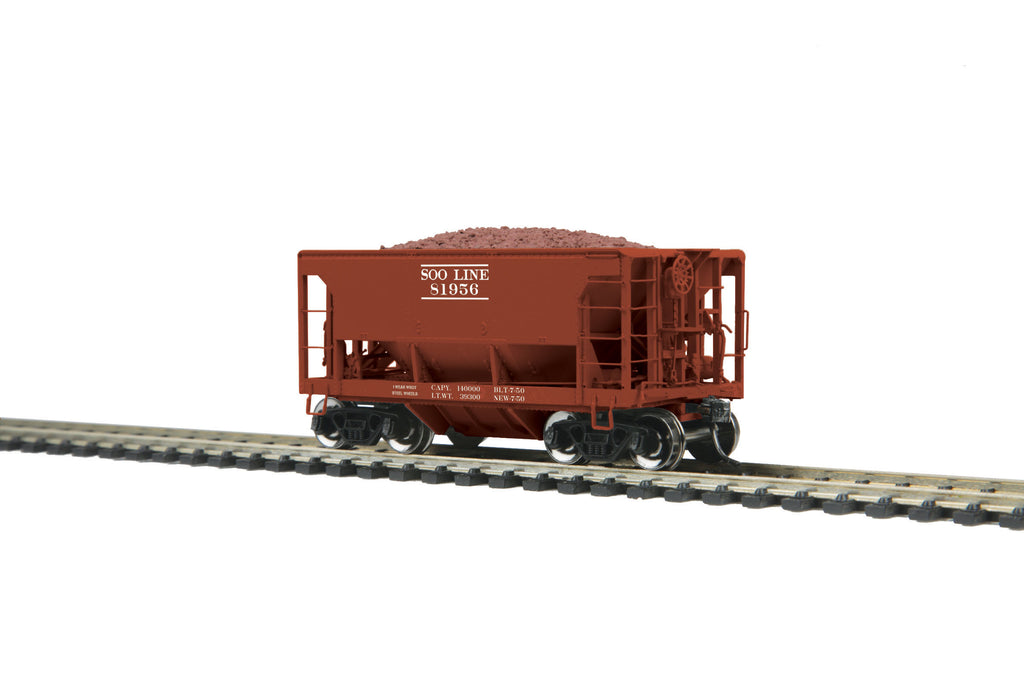 MTH 80-97041 HO SOO Line 70-Ton Center Discharge Ore Car #81956
