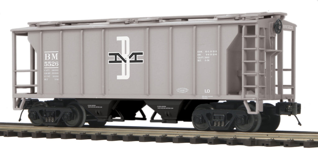 MTH 2097328 O Boston & Maine PS2 Covered Hopper