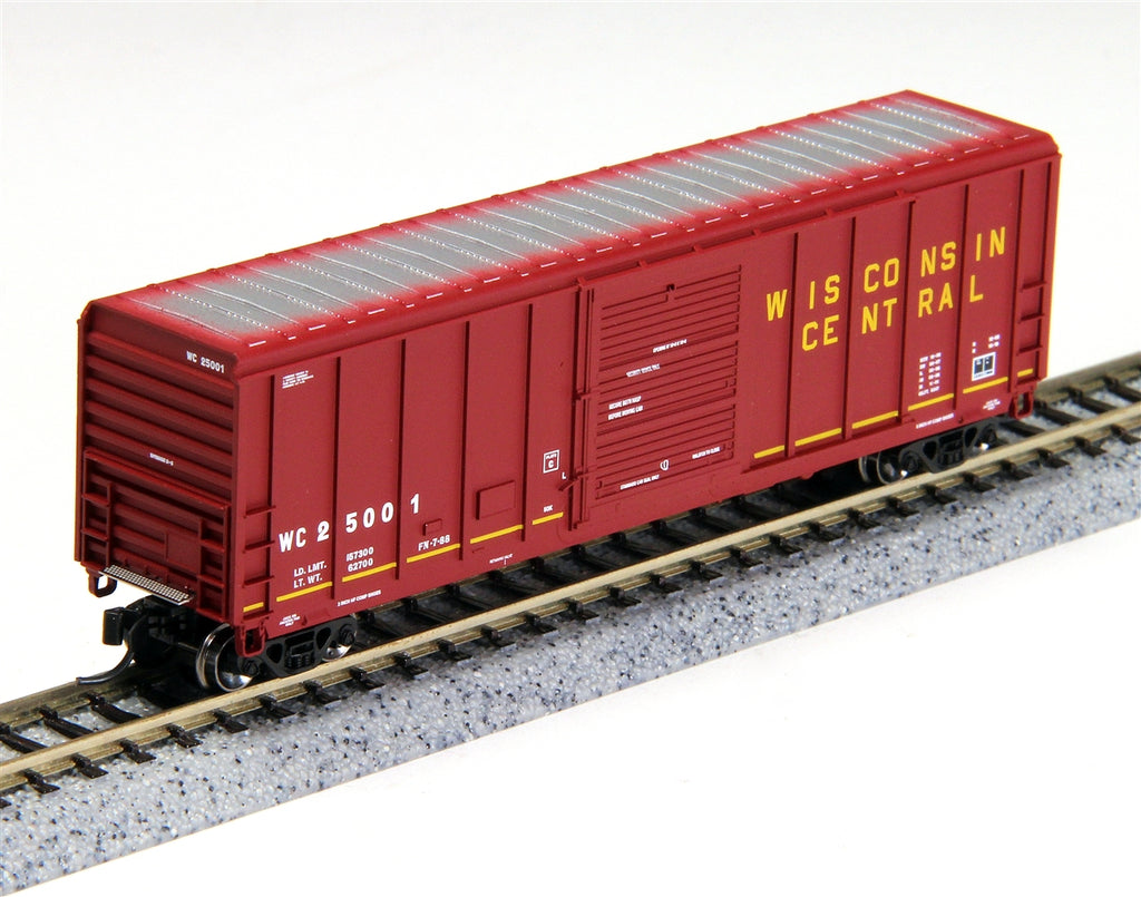 Fox Valley Models 81263 N Wisconsin Central P-S 5344 Cu.ft. Single Door Boxcar - Ready to Run #25003